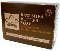 Nubian Heritage Raw Shea Butter Soap with Soy Milk 141G