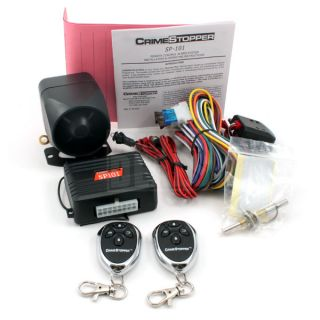 SP 101 Deluxe Car Security Alarm Keyless Entry System