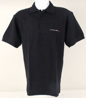 Campagnolo Racing Cotton Polo Shirt Black Medium C912