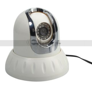 CCD 420TVL 24LED Ceiling Mount Pan/Tilt Rotation Camera Remote Control