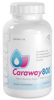 Bottle Caraway Seed Extract Digestive Bloating Support Weight Loss