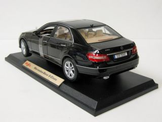 Mercedes Benz E Class Diecast Model Car Maisto 1 18 Black