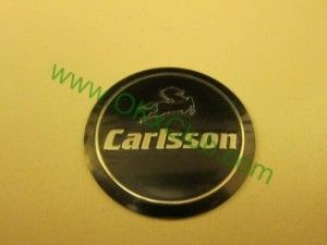 Japan Carlsson Racing Wheel Center Caps Car Motor Decal