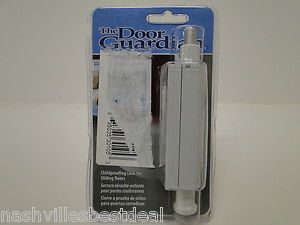 Cardinal Gates Patio Door Guardian White Easy to Install Resists