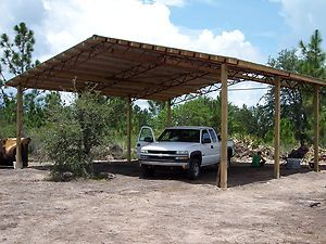 Truss Pole Barn Package Clear Span Horse Barn Carport Work Shop