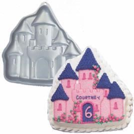 ENCHANTED CASTLE PRINCESS HAUNTED HOUSE BIRTHDAY CAKE PAN HALLOWEEN