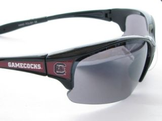 South Carolina Gamecocks Black Maroon Mens Sunglasses USC Licensed
