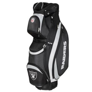 wilson oakland raiders nfl cart golf bag wgb9500oa