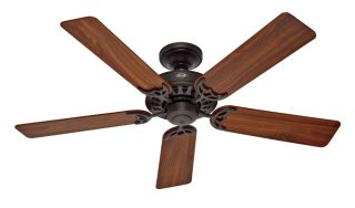 Hunter Architect Series 52 Ceiling Fan Model 26419 in New Bronze with