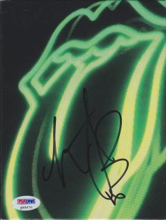Charlie Watts Signed Rolling Stones DVD Cover PSA DNA