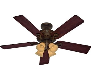 HUNTER 52 CHESTERTOWN COCOA Ceiling Fan 28079