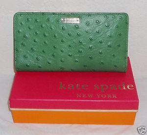 100 Auth Kate Spade Stacey Portolla Valley Wallet New