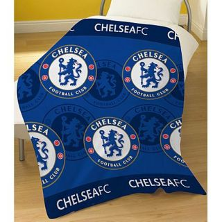 Football Club Teams FC Bedding   Warm Soft Fleece Blanket / Throw