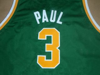 CHRIS PAUL WEST FORSYTH HIGH SCHOOL JERSEY GREEN NEW ANY SIZE DZD