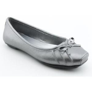 Simpson Leve Youth Kids Girls Size 13 Silver Ballet Flats Shoes