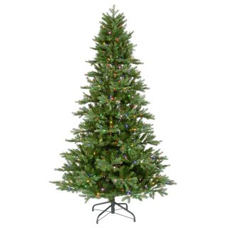 ft Instant Shape Slim Frasier Christmas Tree LED Multi Color