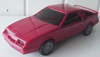 1984 Chrysler Laser Auto Toy Car