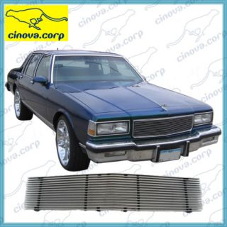 86 87 88 89 90 Chevy Caprice Billet Grille Grill Racing Classic