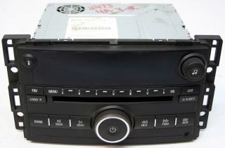 2007 2008 Chevy HHR Factory Stereo 6 Disc Changer  CD Player Radio