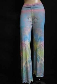 Claire Pettibone Pastel Tranquil Asian Long Yoga Pant With Great Fit