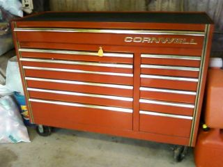 Cornwell Super Box Gold Edition Huge Tool Box with Tools