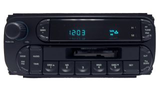02 03 04 05 Chrysler Dodge Jeep RAM Intrepid Radio Stereo Tape Player
