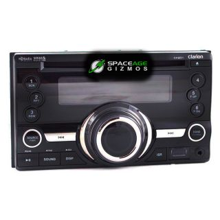Clarion CX201 in Dash CD  WMA Double DIN Receiver Car Stereo with