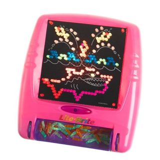 New Lite Brite Classic Toy Flat Screen Pink 2 Day SHIP