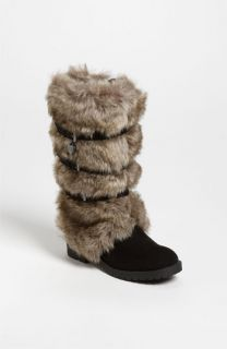 KORS Michael Kors Abrielle Faux Fur Boot (Little Kid & Big Kid)