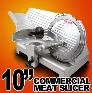 Commercial Restaurant 240W Electric Frozen Meat Deli Food Slicer