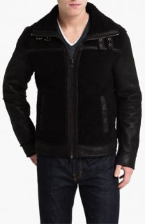 Michael Kors Shearling Racer Jacket