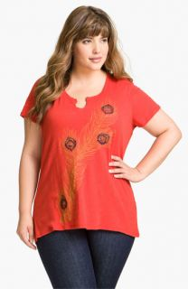 Lucky Brand Erin Tee (Plus)