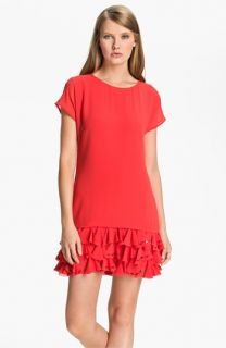 Ted Baker London Ruffle Tunic Dress