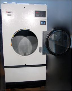 IPSO DR55 COMMERCIAL NATURAL GAS COIN OP DRYER with 50 LB CAPACITY