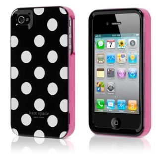 Contour Design Kate Spade Hard Large White Polka Dot Case Cover For