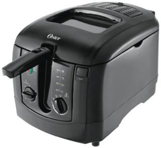 Features of Oster CKSTDFZM55 3 Liter Cool Touch Deep Fryer, Black