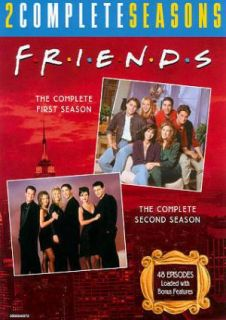 FRIENDS~~~TV COMPLETE SEASONS 1 & 2~~~8 DVD BOX SET~~~NEW