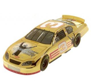 Race Fans Dale Earnhardt Foundation 124 Scale 24K Gold Plated Car