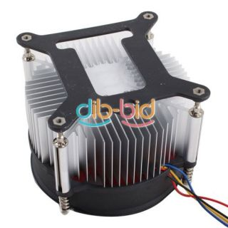 90mm PC Cooling 4 Pin Fan Cooler System Computer Case CPU Heatsink