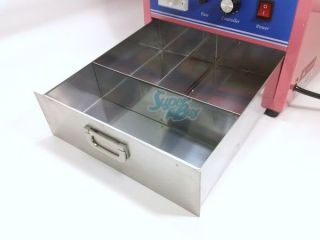 Electric Cotton Candy Machine Commercial Floss Maker 110V 50Hz US Demo