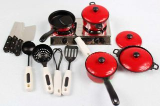 Education Cookware 13 Sets Of Fun Play & Learn Kitchen Accessories