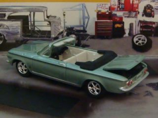 63 Chevy Corvair Monza Convertible 1 64 Scale Le See Photos Below