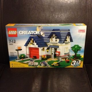 Lego Creator Apple Tree House 5891 New in Box