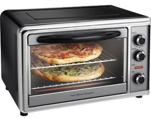 Countertop Convection Oven Rotating Rotisserie Toaster Broiler
