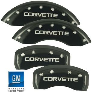 accessories for all corvettes c4 corvette brake caliper cover black