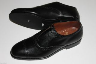 Allen Edmonds Van Ness Black 9 D New in Box