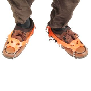 Shoes Magic Spiker Anti slip Spiker Crampons Snow Shoe Orange