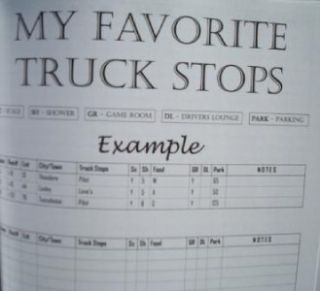 trucker s daily planner organizer for drivers