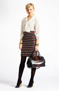 kate spade new york top & skirt