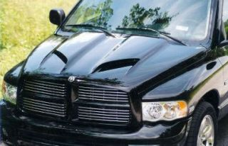 Dodge RAM Custom Dual Scoop Truck Hood